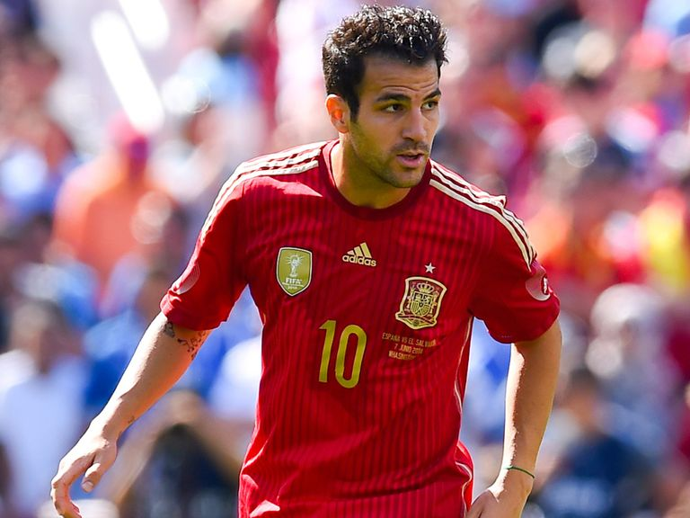 Cesc Fabregas: Joined Chelsea from Barcelona