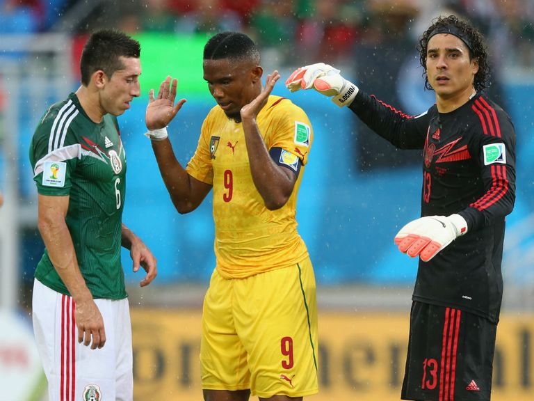Mexico claimed a deserved win over Cameroon in Group A