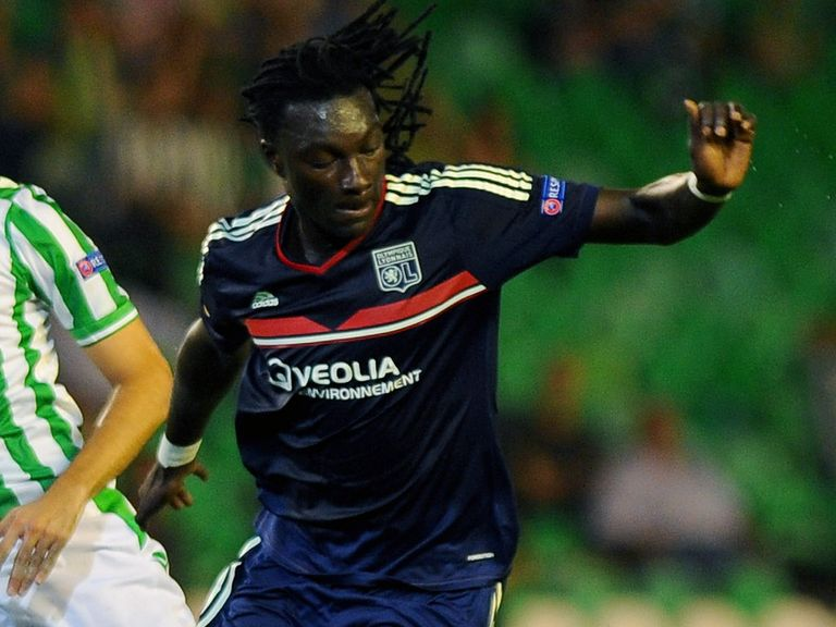 Bafetimbi Gomis: Understood to be close to a move to the Premier League