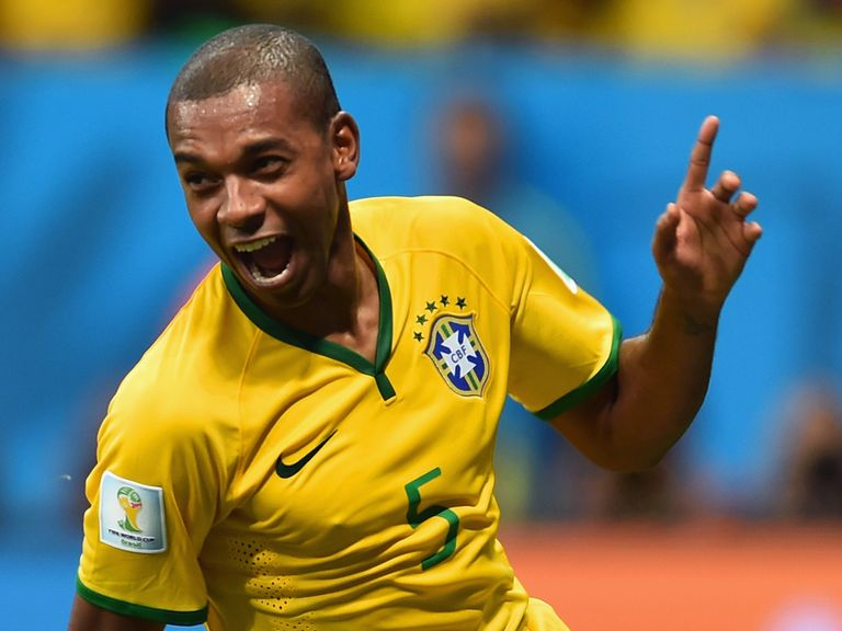 Fernandinho: Among the scorers on Monday night