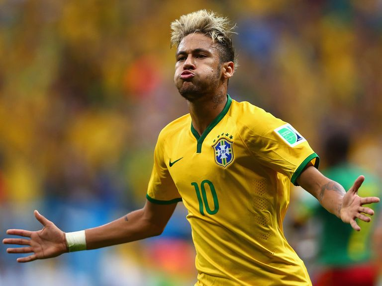 Neymar: The 5/2 favourite to be top goalscorer