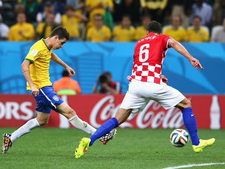 Oscar: Scored a fine goal against Croatia