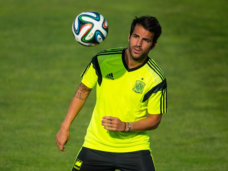 Fabregas: Keen on a return to Arsenal
