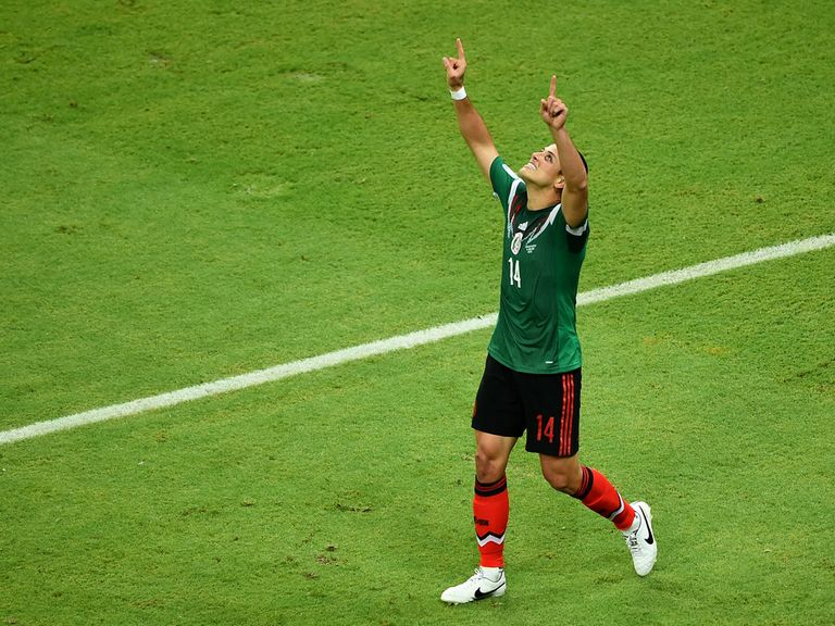 Javier Hernandez: Came off the bench to score for Mexico
