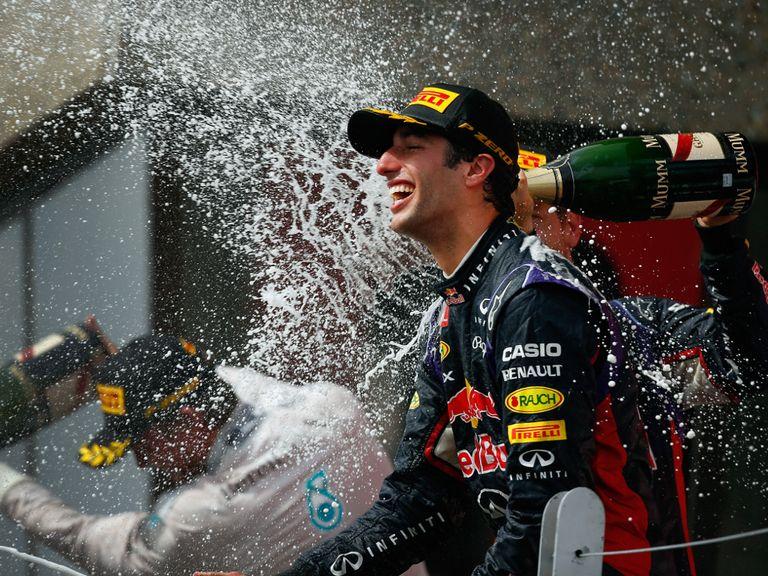 Daniel Ricciardo: Worthy winner in Canada
