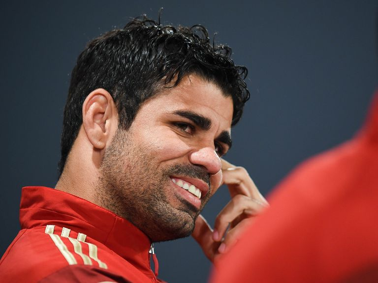 Diego Costa: Unaffected by criticism from Brazil fans