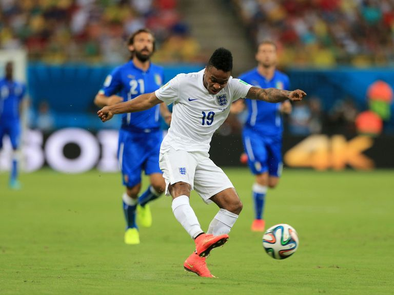 Raheem Sterling: Impressed for England against Italy
