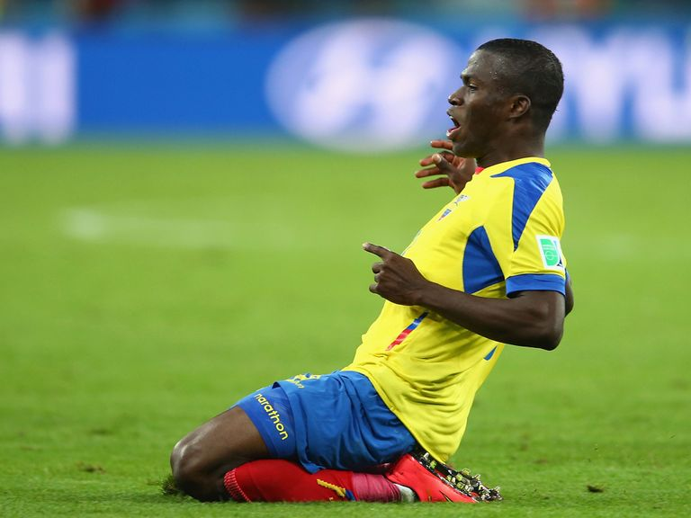 Enner Valencia is having a medical at Upton Park