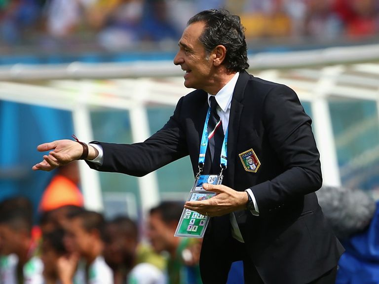 Cesare Prandelli: Has resigned as Italy coach