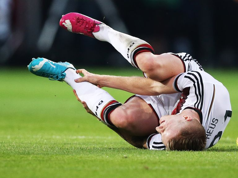 Marco Reus: Could be sidelined for three months