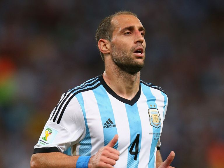 Pablo Zabaleta: Getting ready for World Cup final