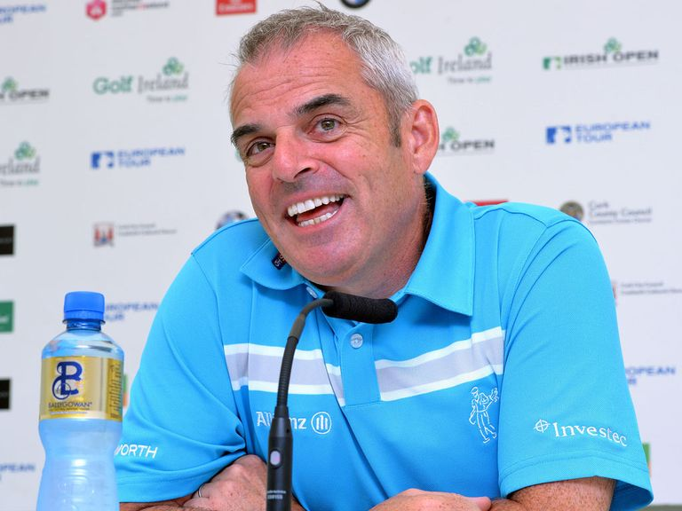 Paul McGinley: Announces his wildcard picks on Tuesday