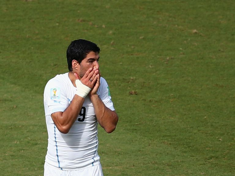 Luis Suarez: Can't play again until October