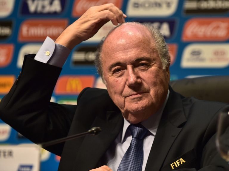 Blatter: Hit back again at the allegations