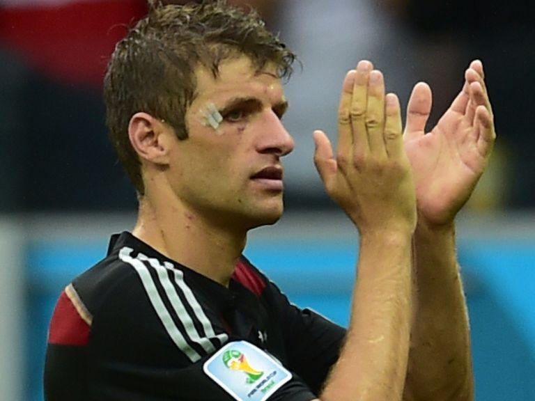 Thomas Muller: Prepares for France clash