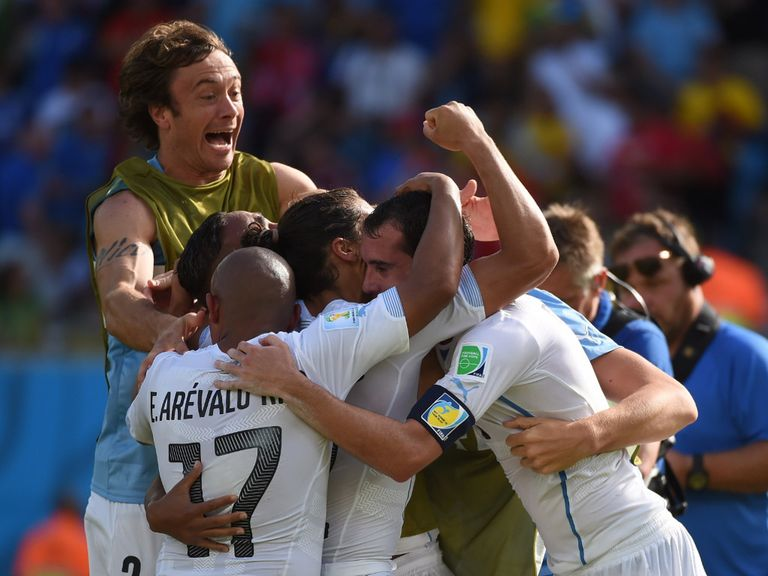 Uruguay can claim victory without Luis Suarez