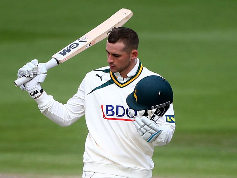 Alex Hales: Impressive performance for Nottinghamshire