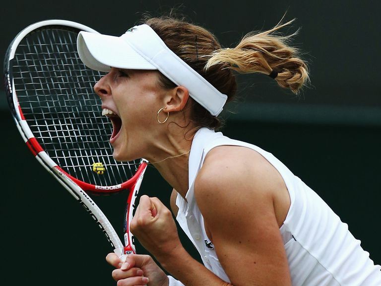 Alize Cornet stunned Serena Williams with her win in three sets