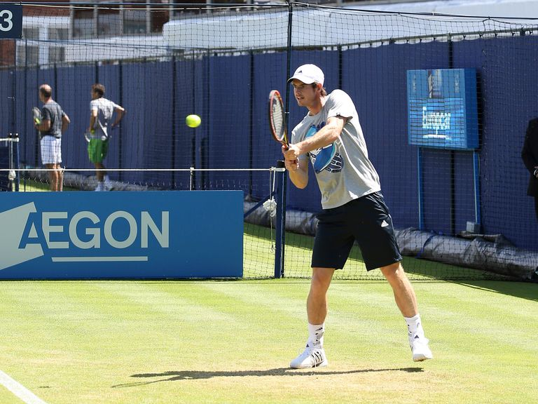 Andy Murray: Will be coached by Mauresmo over the grass court season