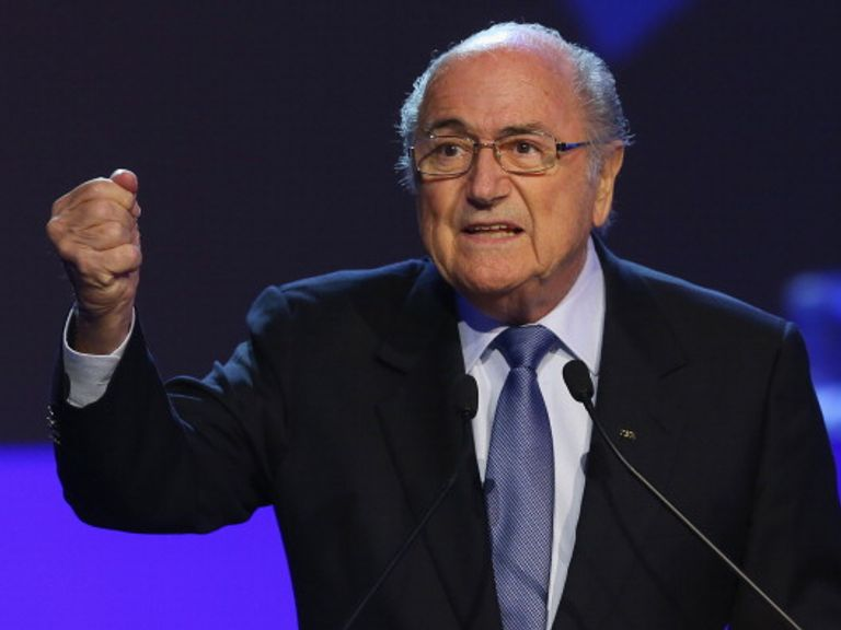 Sepp Blatter: Set to stand for a fifth term as FIFA president