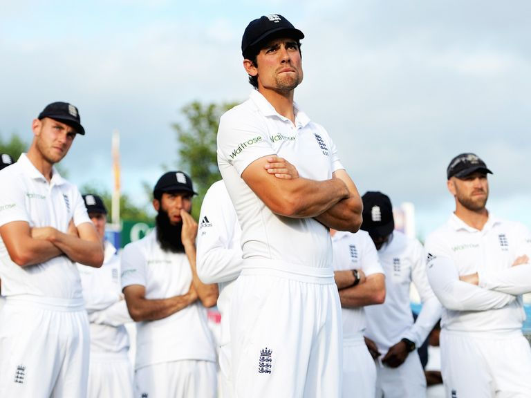 Cook: Under pressure as England captain