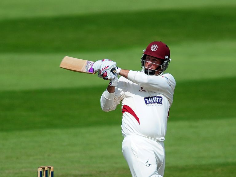 Trescothick hits out during his record-breaking innings
