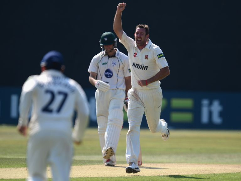 David Masters: Took four wickets in Essex win
