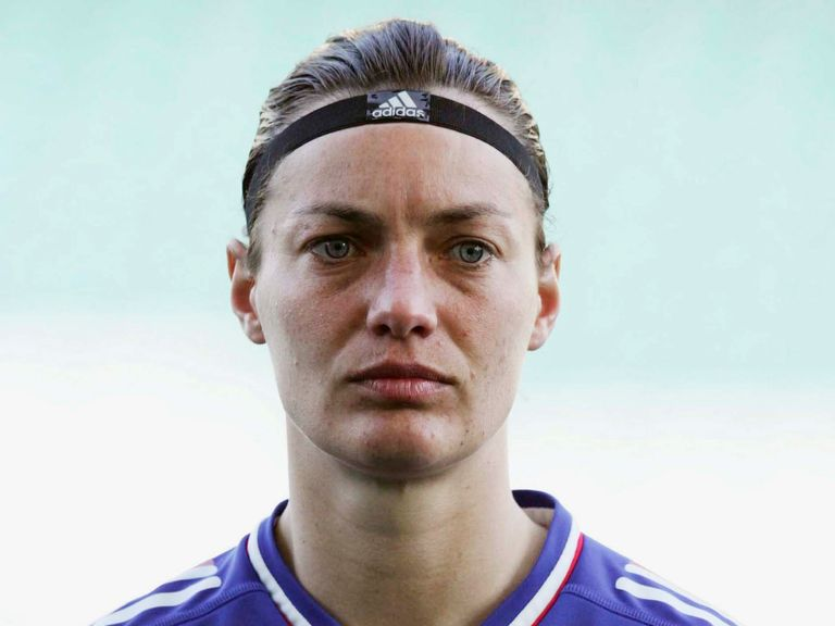 Corinne Diacre: Her 121 caps make her France's third highest capped player