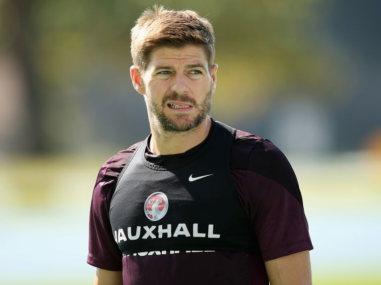 Steven Gerrard: All set to start England's World Cup campaign