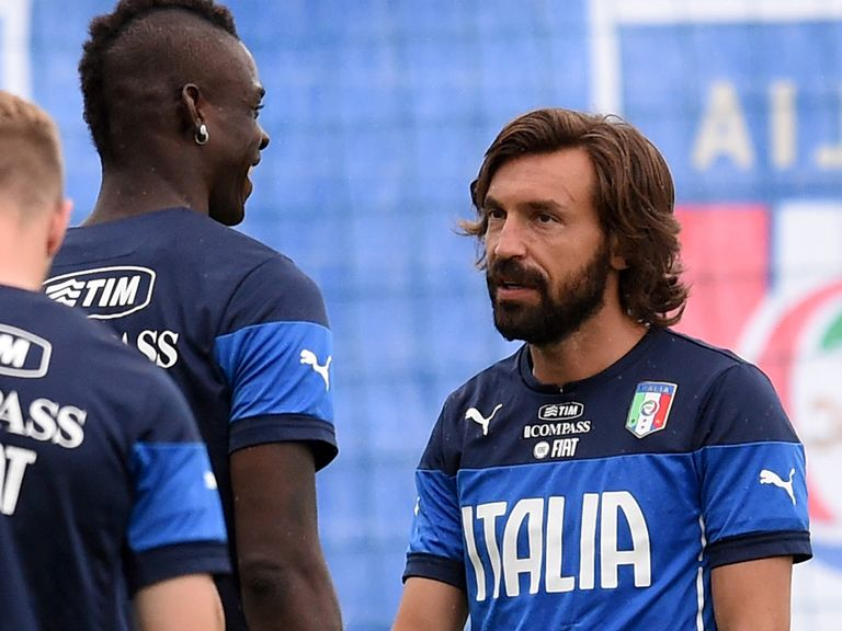 Pirlo: Not the main area of focus for Hodgson and England