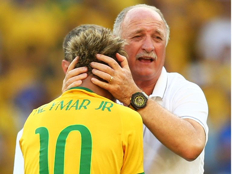 Luiz Felipe Scolari: Time in charge of Brazil is over
