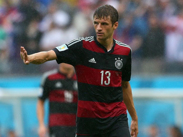 Thomas Muller: One of the players in the running