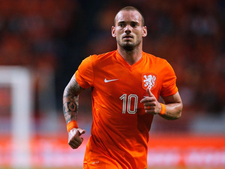 Wesley Sneijder: Linked with Manchester United