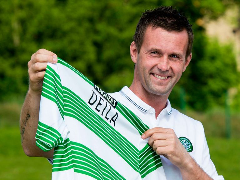 Celtic manager Ronny Deila will find out his European rivals on Monday