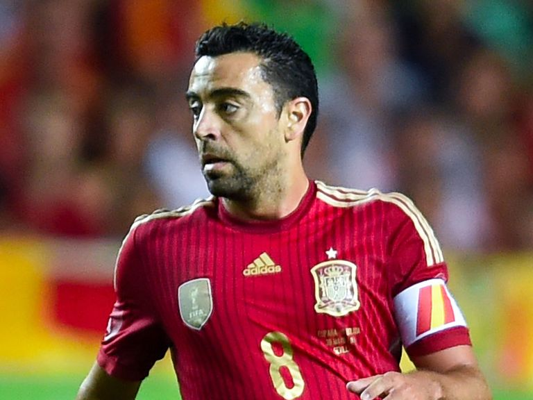 Xavi: Spain career is over