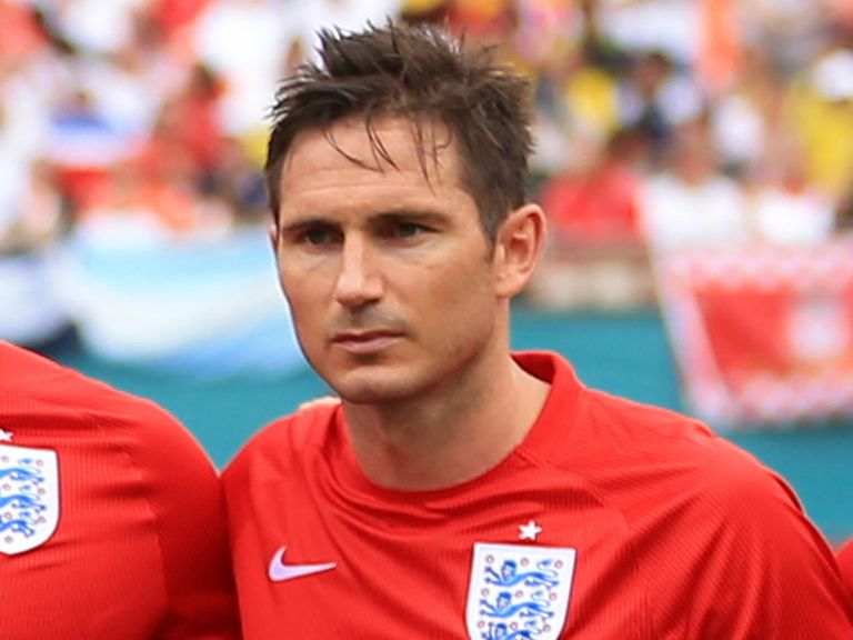 Frank Lampard: Captained England against Ecuador