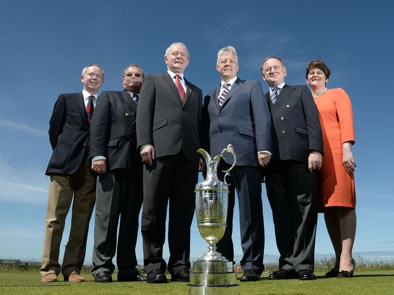 Officials have announced Royal Portrush will stage the Open Championship