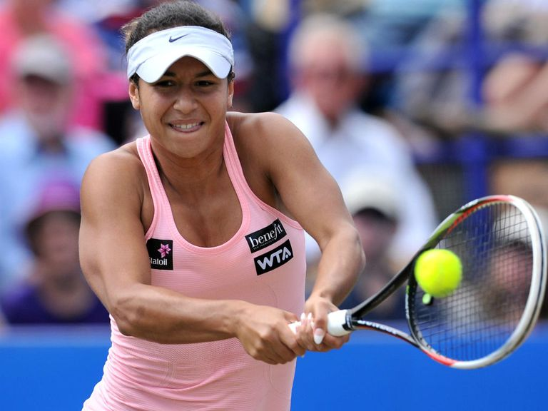 Heather Watson: Beaten by hard-hitting Madison Keys in Eastbourne