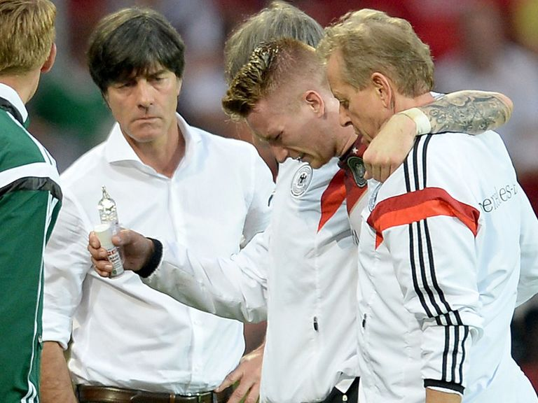 Marco Reus: Big worry for Germany