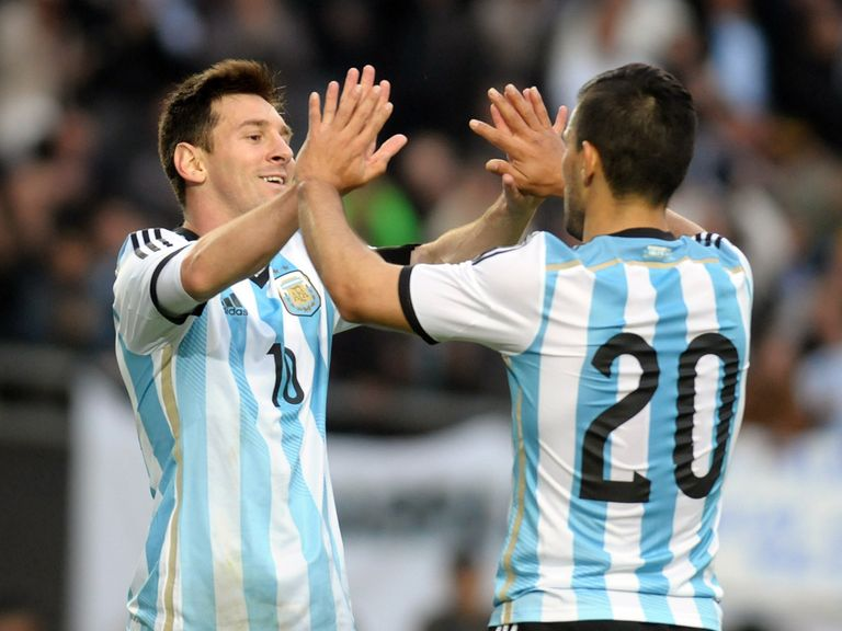 Lionel Messi and Sergio Aguero could have plenty of opportunities