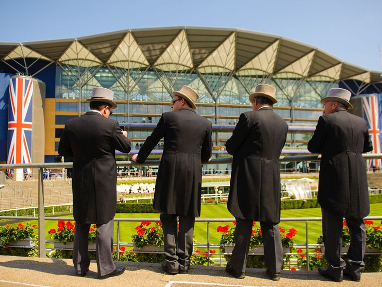 This isn't a picture of our panel in action at Royal Ascot - but, in a way, it could be.