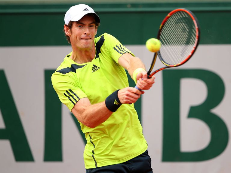 Andy Murray: Bidding for a semi-final place in Paris