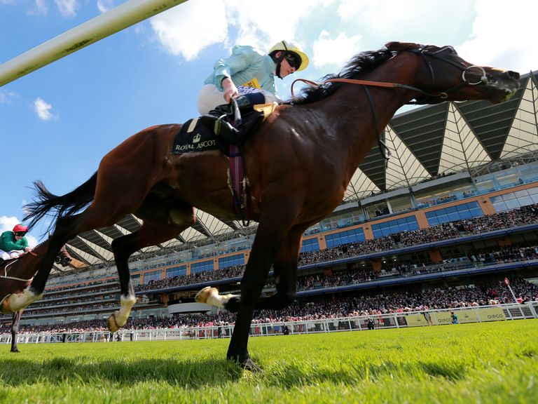 Arab Spring winning at Royal Ascot