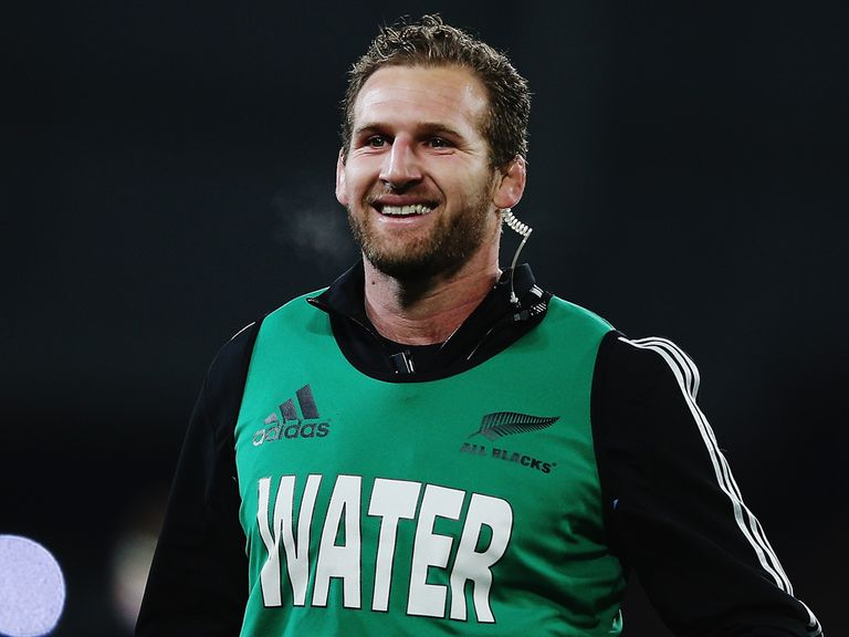 Kieran Read: Named in the New Zealand team