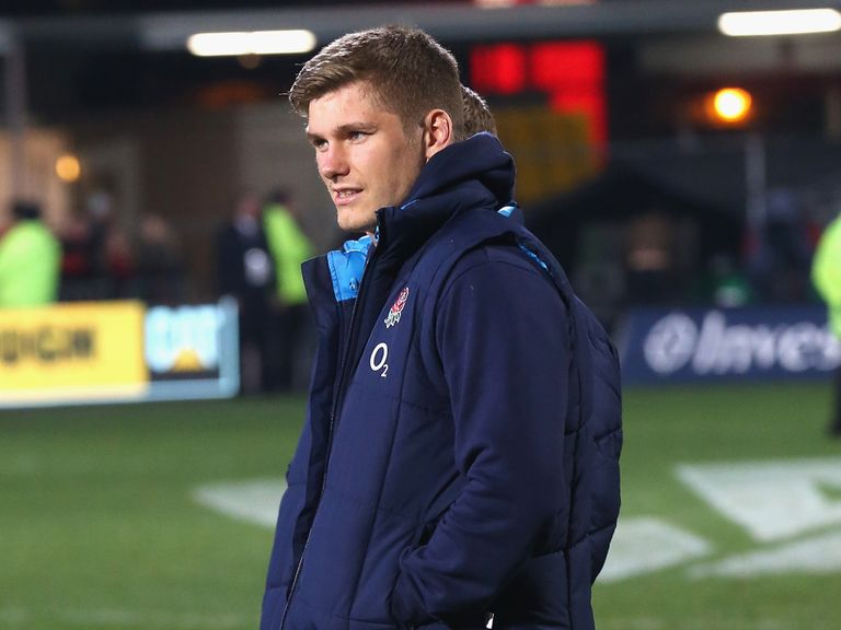 Owen Farrell: Ruled out of the final Test