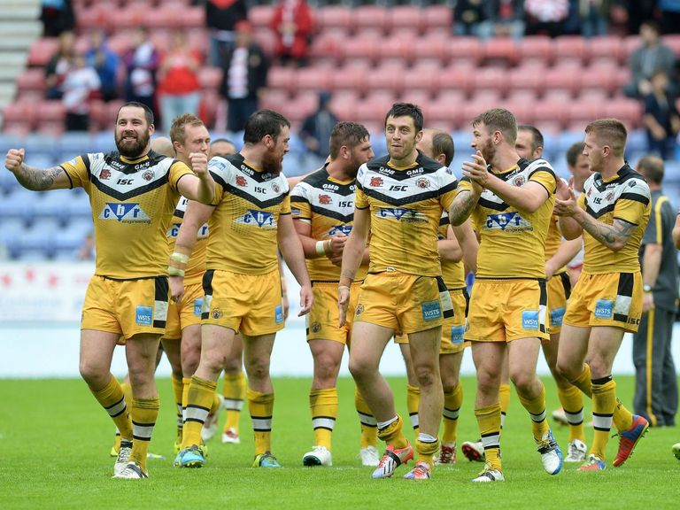 Castleford: Will have one eye on next week's Challenge Cup semi-final