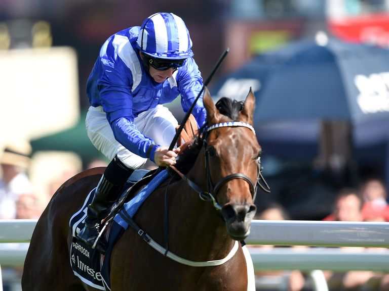 Taghrooda: Has targeted the King George over the Irish Oaks