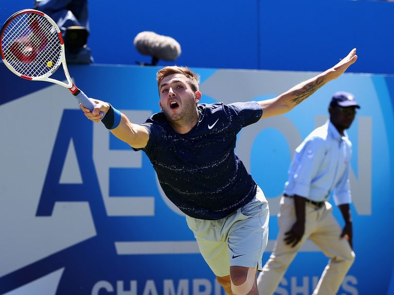 Dan Evans: Knocked out at Queen's Club