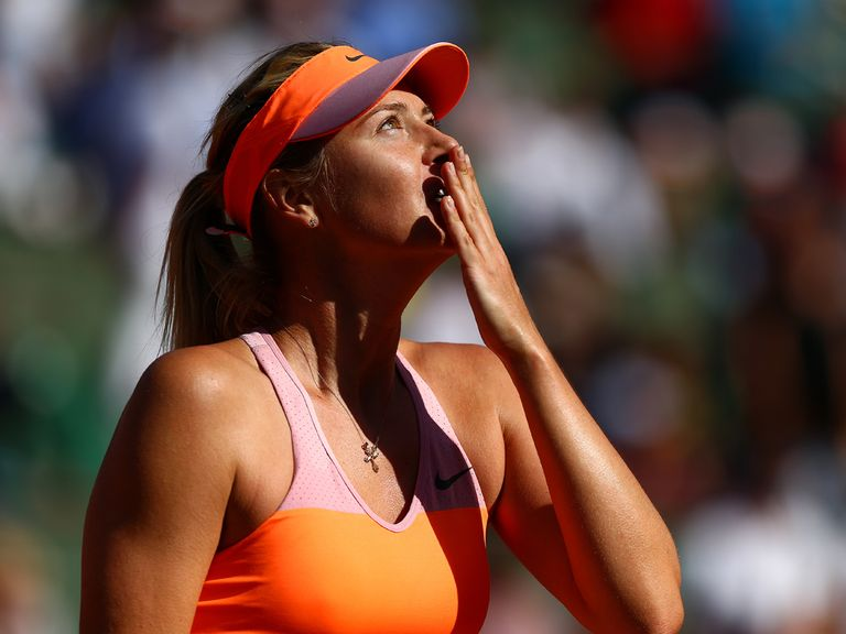 Sharapova: Worked so hard to get a second title in Paris