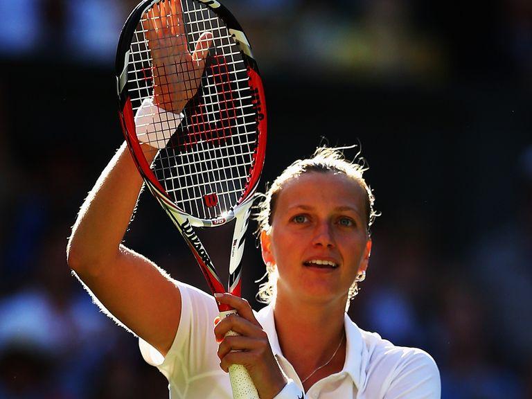 Petra Kvitova ended Venus Williams' hopes of a sixth Wimbledon title